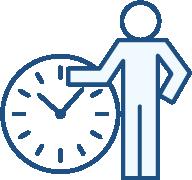 人事担当者様の就業時間を有効活用できます。